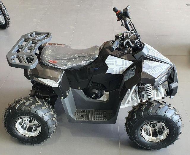Mini quadriciclo fun motors tauros 110cc 4 tempos NOVO - Foto 2