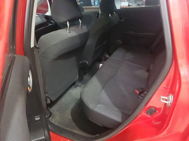 Honda Fit 2012 1.4 Flex LX Vermelho Estudo Troca e Financio - Foto 8