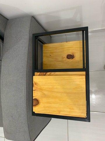 Aparador de sofar (com compartimento balde de cerveja) - Foto 2