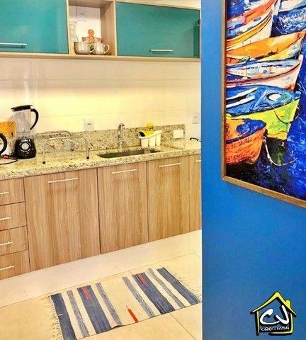 Apartamento c/ 1 Quarto - Centro - 1 Vaga - Mobiliado - Próximo a Tudo - Foto 9