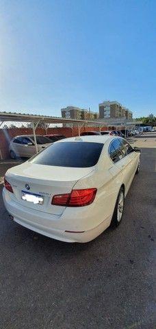 Torro! Ipva Pago!!! BMW 528I 2.0 Turbo - Top de Linha, 2013, interior Caramelo, 245 Cv - Foto 9