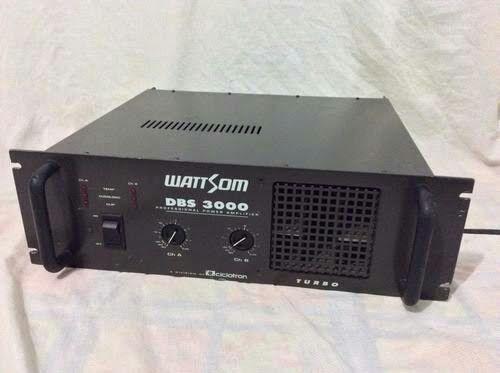 Amplificador wattsom DVD 3000 TURBO - Foto 2