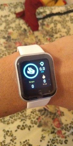 Novo Smart Watch Y68 Com Rastreador Fitness Para Ios / Android - Foto 4
