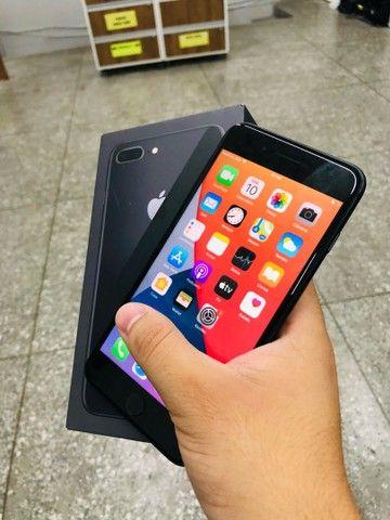 Boa tarde >> iPhone 8 Plus black pra hoje, aproveite  - Foto 2