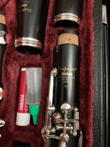 Clarinete Yamaha Profissional