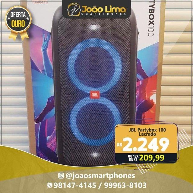 JBL PARTYBOX 100, NOVO, LACRADO