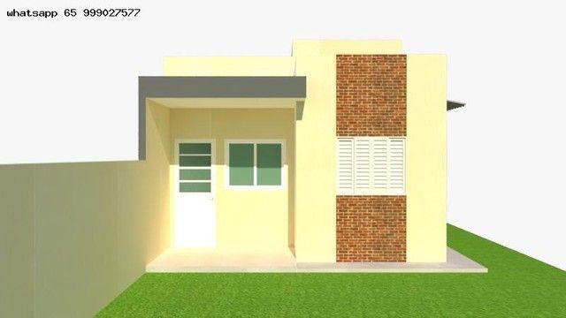Casa para Venda em Várzea Grande, Nova Fronteira, 2 dormitórios, 1 suíte, 2 banheiros, 2 v - Foto 3