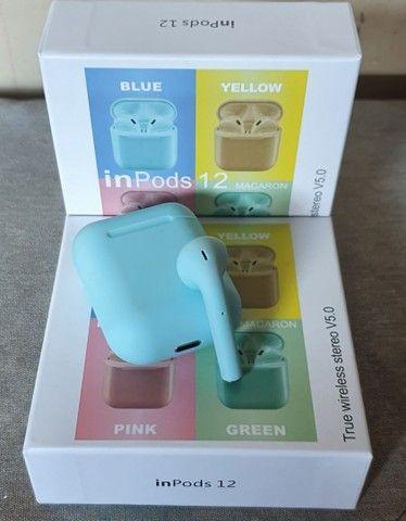 Fones i12 TWS Bluetooth - Foto 6