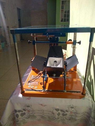 Maquina de Silk Screen Jeferson Machines Sem uso... - Foto 4