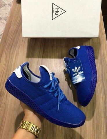 Vendo sapatênis Adidas H.U e sapatênis ( 120 com entrega) - Foto 3