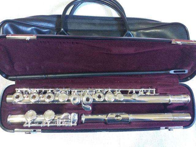 Flauta transversal yamaha 261 japan revisada