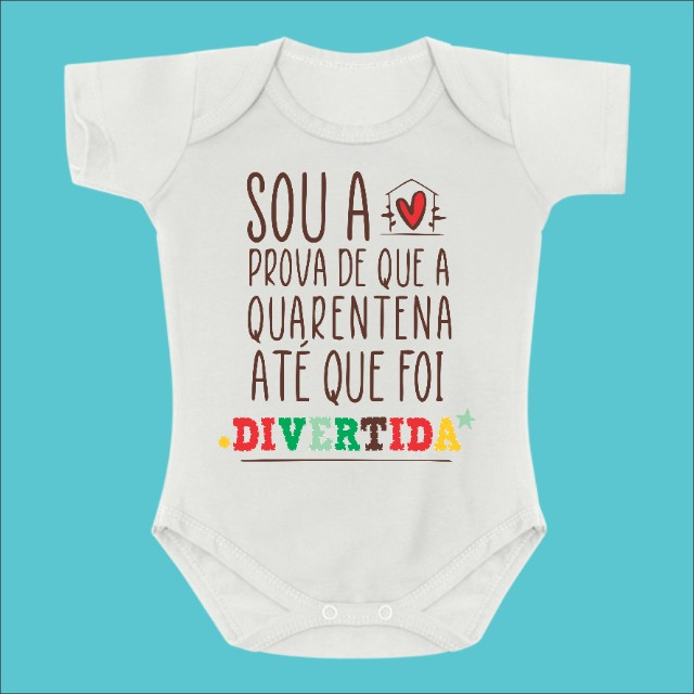 Body de Bebê Personalizado - Foto 6