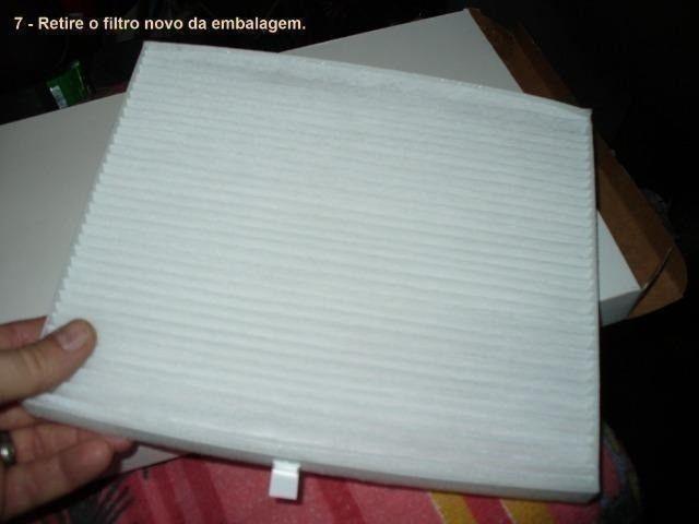 Filtro Cabine Ar-Condicionado Mahindra 2.2 e 2.6 Suv, Mov, Scorpio, PikUp, Cd, Simples - Foto 5