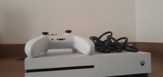 Xbox one S 1tb microsoft original semi novo - Foto 2