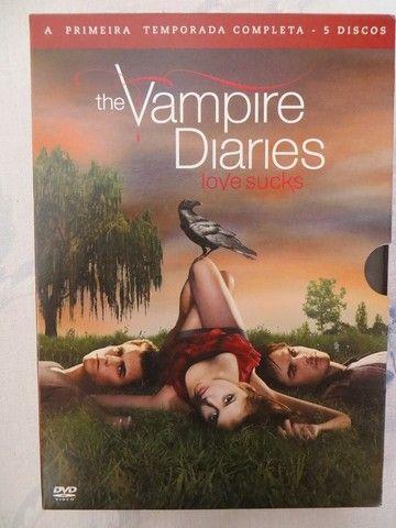 Box 1ª Temporada The Vampire Diaries