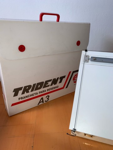 Prancheta para Desenho A3 Trident + Tubo Telescópio  - Foto 3