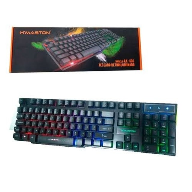 teclado retroiluminado