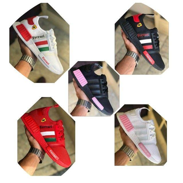 Vendo tênis Adidas nmd e nmd Ferrari ( 120 com entrega ) - Foto 6