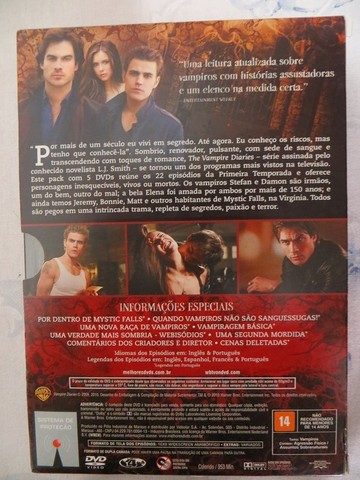 Box 1ª Temporada The Vampire Diaries - Foto 2