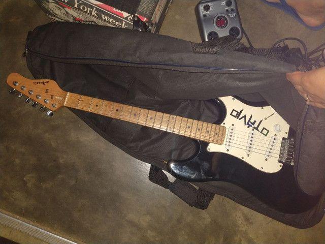 Vendo caixa borne, guitarra austin perfeito estado. Mais pedaleira  - Foto 2