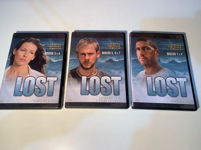 DVD LOST - primeira temporada completa  - Foto 3