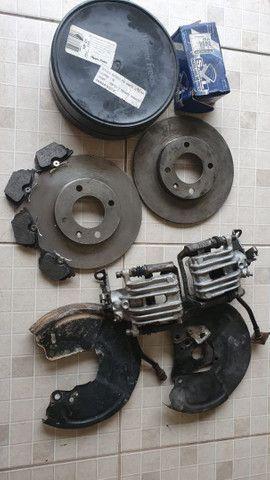 Kit freio a disco traseiro chevette