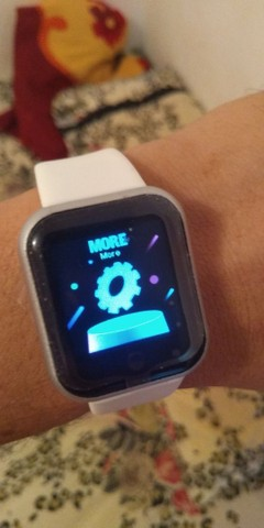 Novo Smart Watch Y68 Com Rastreador Fitness Para Ios / Android - Foto 3