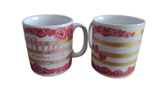 Caneca Personalizada Dia das Mães - 320ml Vários Modelos - Foto 5