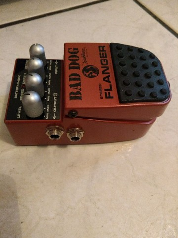 Pedal washburn flanger stereo bad dog - Foto 2