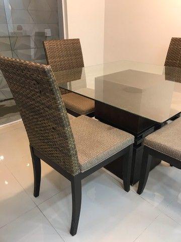 Conjunto de mesa e cadeiras  - Foto 3