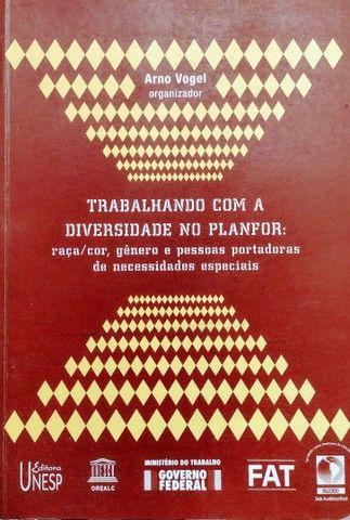 Livro Trabalhando Com A Diversidade No Planfor