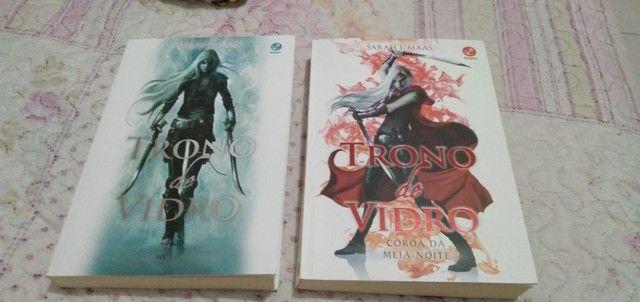 Livros da coleção Trono de vidro  - Foto 5