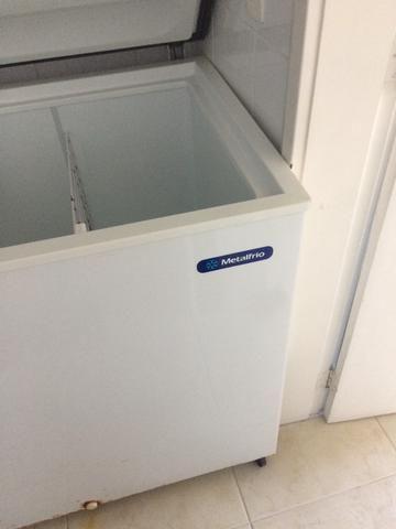Freezer horizontal Metalfrio 2 portas