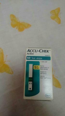 Tiras teste para medir glicose (Tabajara Olinda )