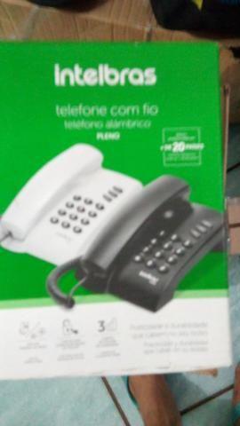 Telefone novo Intelbras