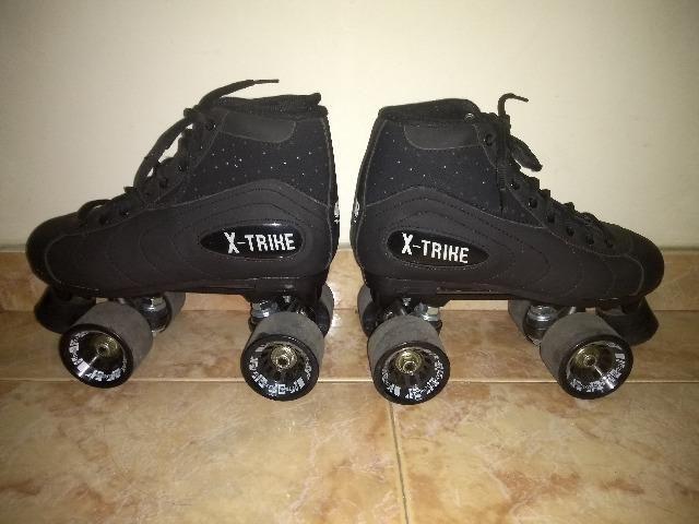Patins (4 rodas) Quad Traxart X-Trike Com Kit Proteção
