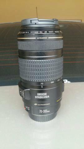 Objetiva Canon 70-300 IS USM