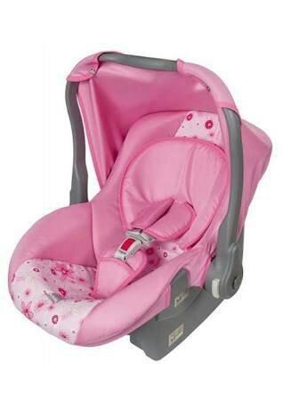 Bebê conforto na promoção da loja credkids a
