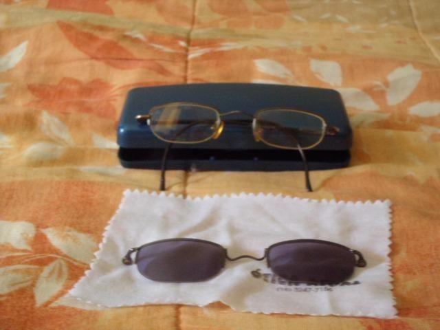 Armação de oculos com rayban