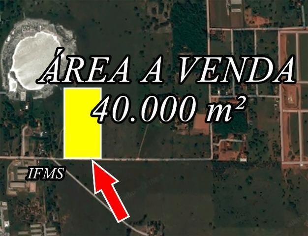 Area de 40.000 m² - Três Lagoas/MS
