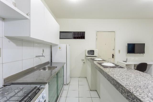 Flat 103, 4º pavimento Boa Viagem, completíssimo, Praia e Shopping Center - Foto 5