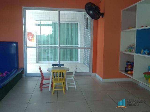 Apartamento com 3 dormitórios para alugar, 110 m² por r$ 2.079,00/mês - salinas - fortalez - Foto 19