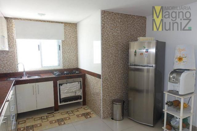 Porteira fechada - excelente casa duplex nova - Foto 12