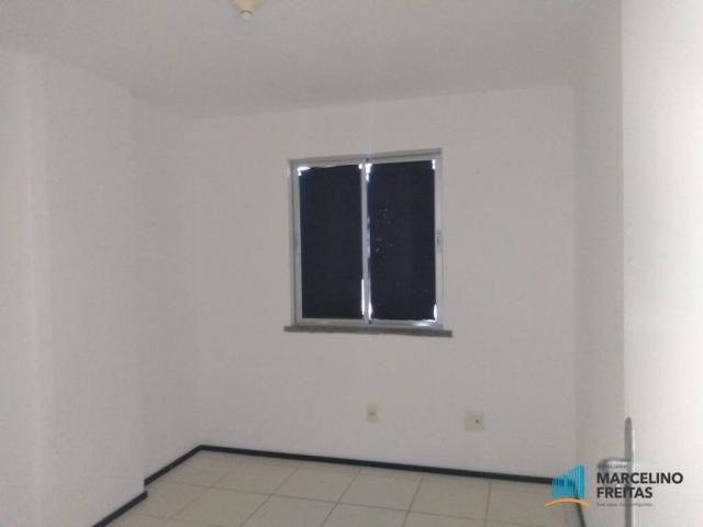 Apartamento com 2 dormitórios para alugar, 52 m² por r$ 1.109/mês - álvaro weyne - fortale - Foto 18