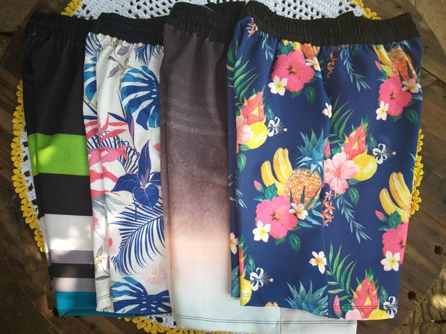 Shorts masculino estilo moletom