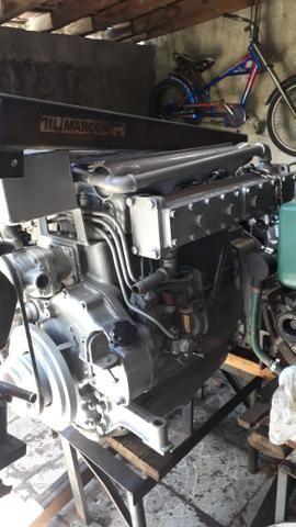 Motor mwm maritimo 229 com reversor hidráulico 2x1.zerado