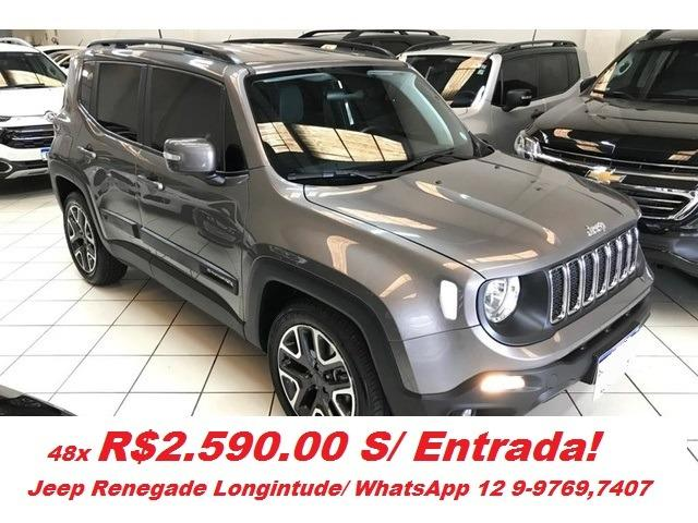 Jeep Renegade Longitude Aut./ Realize seu Sonho! Ipva Gratis!