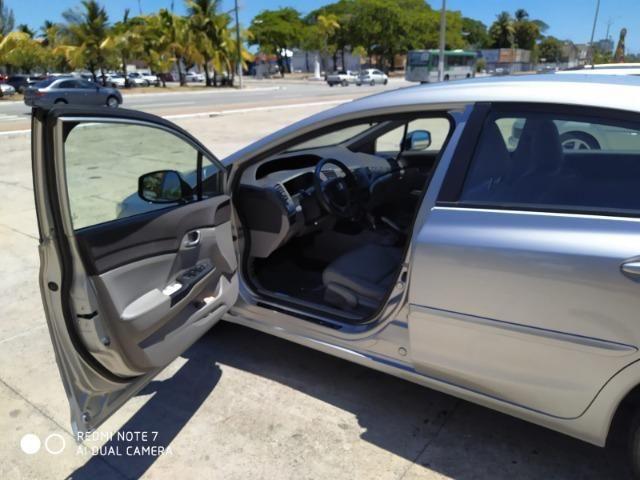 Honda Civic Semi Novo Completo e Automatico 2014 Conservado - Foto 7