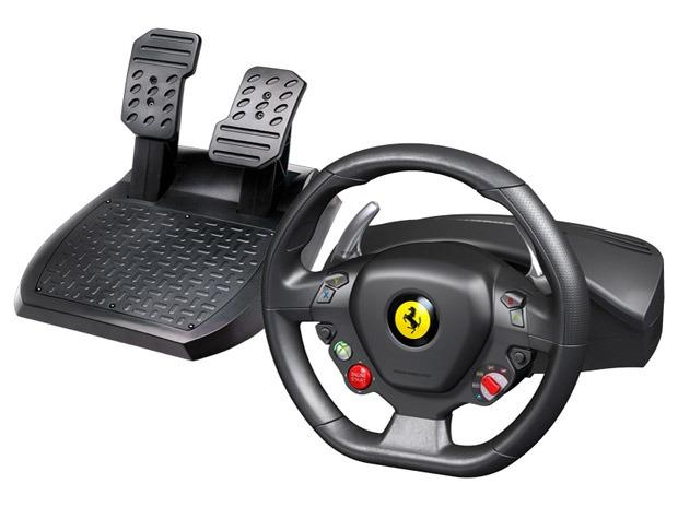 Volante Thrustmaster Ferrari 458 Itália PC/Xbox 360
