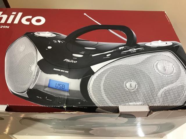 b30c17f8608 Aparelho de som Philco nunca usado - Áudio